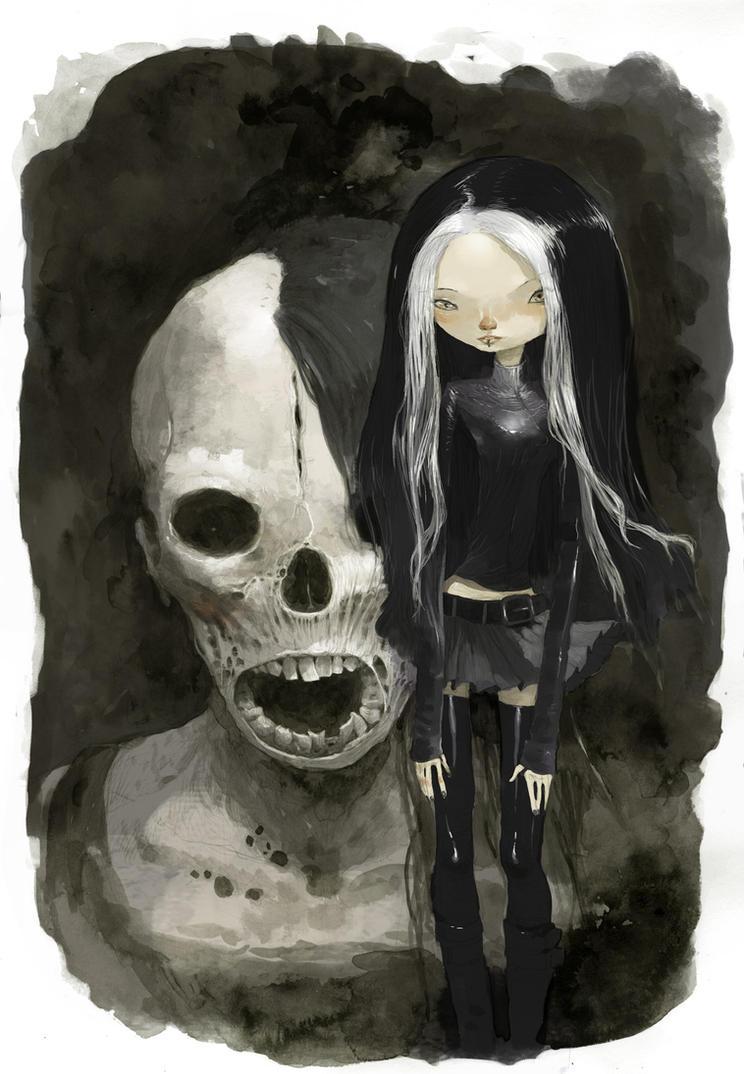 catacombes by tonysandoval