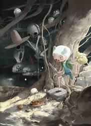 Adventure time alternative cover by tonysandoval