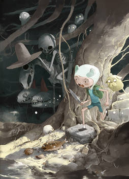 Adventure time alternative cover