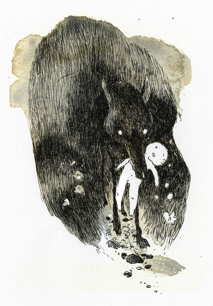 Anoche Vino el lobo by tonysandoval