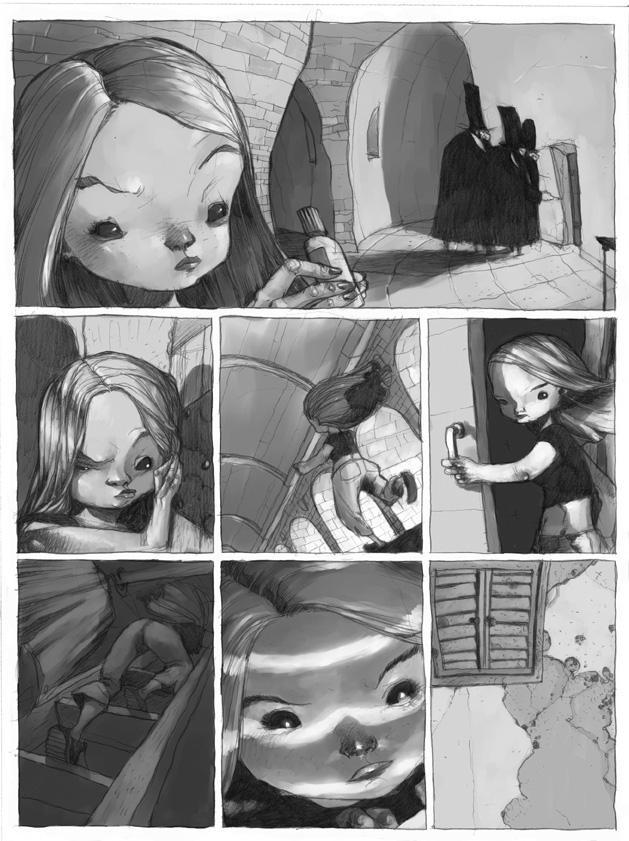 Sophie 3 by tonysandoval