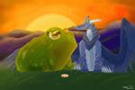 The Princess and the Froggo (Collab)