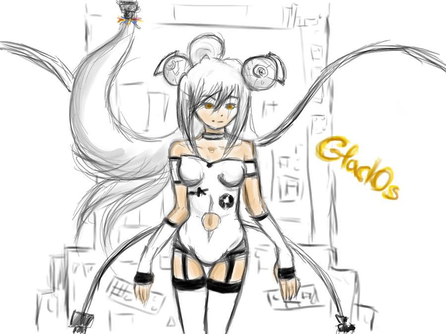 GladOs Human form (finished) by IronaNoOkami on DeviantArt