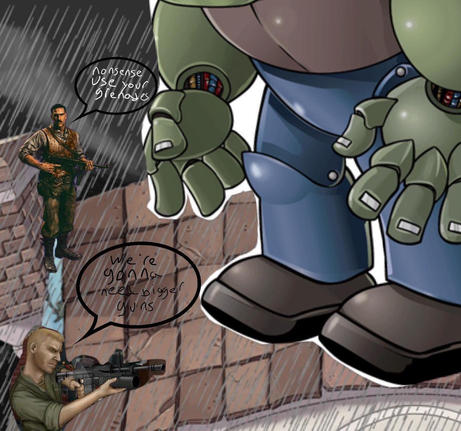 Plants Vs Black Ops Zombies by DELTAFORCE37