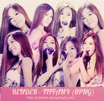 [PNG PACK ] Tiffany #1 render - Girls Generation