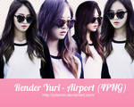 [PNG PACK ] Yuri#1 render - Girls Generation by JulieMin