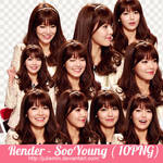 PNG PACK ( SNSD - SooYoung ) by JulieMin by JulieMin