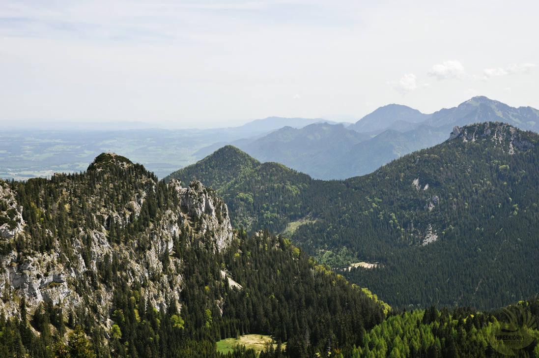 The Chiemgau Alps by VonZeitZuZeit
