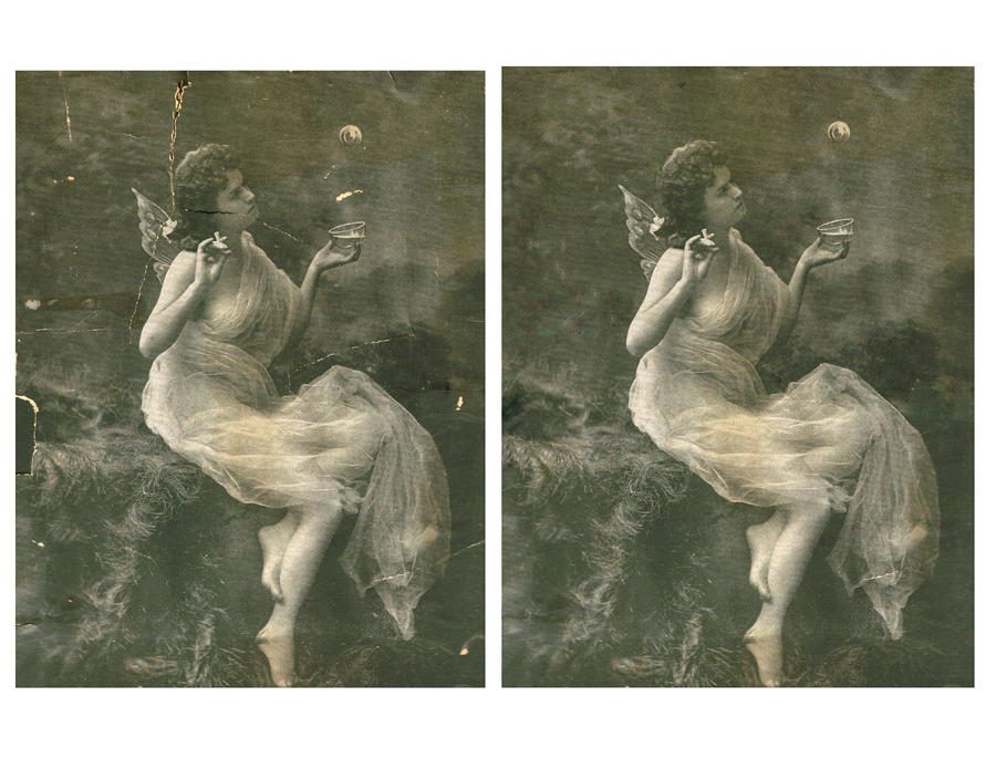 Vintage Photo Restoration by ksagag
