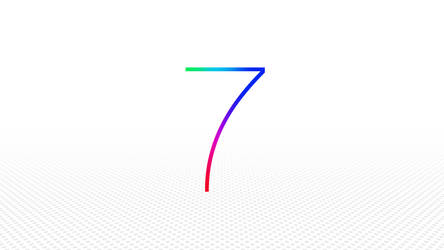 WWDC Apple iOS7 banner inspired wallpaper by Leconte