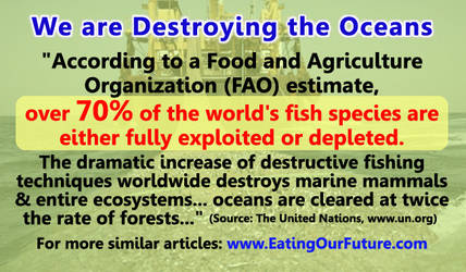 Overfishing Seafood is Destroying the Oceans by eatingourfuture