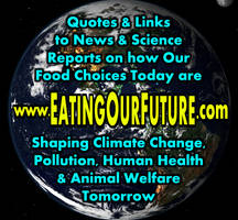 Eating Our Future Site Logo: Save The Planet Meme