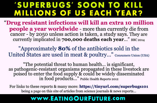 Antibiotic Resistance due to Animal Agriculture