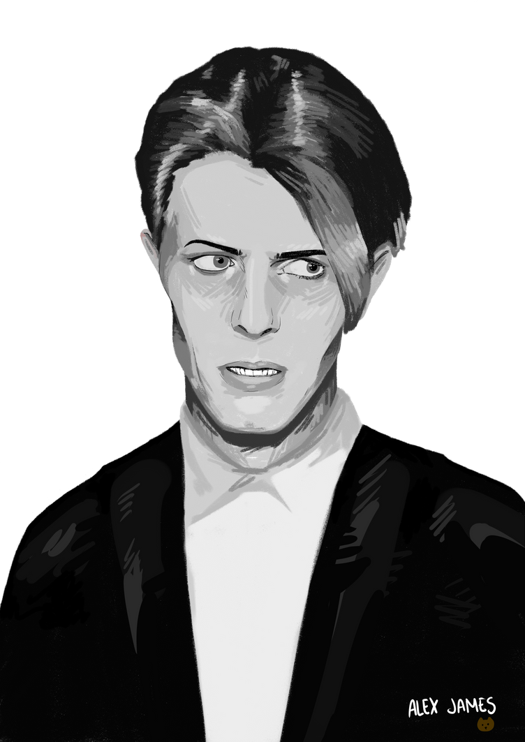 David Bowie by homisike