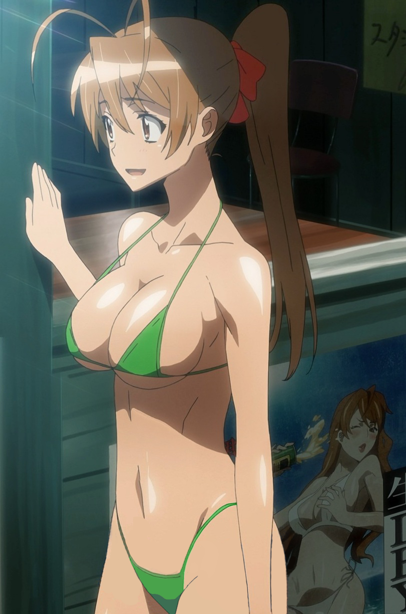 Highschool of the dead girl characters hot