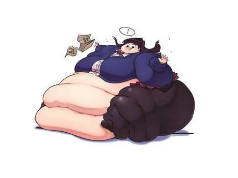 Komi-san Has Trouble Saying No To Food (NEW - 6/8)