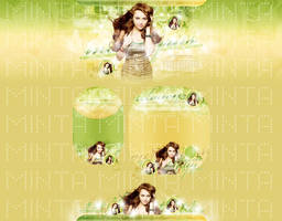 Miley Cyrus Layout Portfolio by cherryproductionsorg