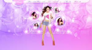 Vanessa Hudgens PSD Header by cherryproductionsorg