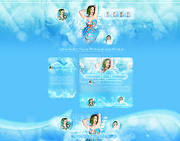 Katy Perry FREE HTML Theme by cherryproductionsorg