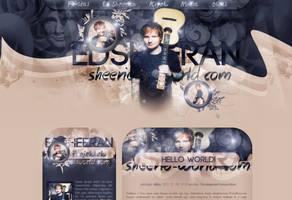 Ed Sheeran Theme by cherryproductionsorg