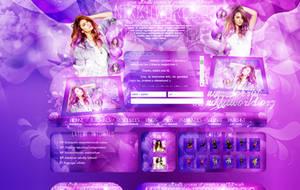 Nina Dobrev Design by cherryproductionsorg