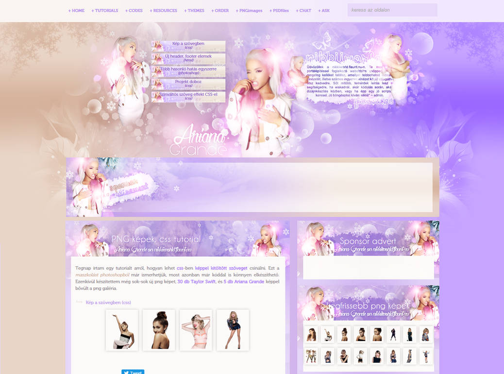 Ariana Grande Design by cherryproductionsorg