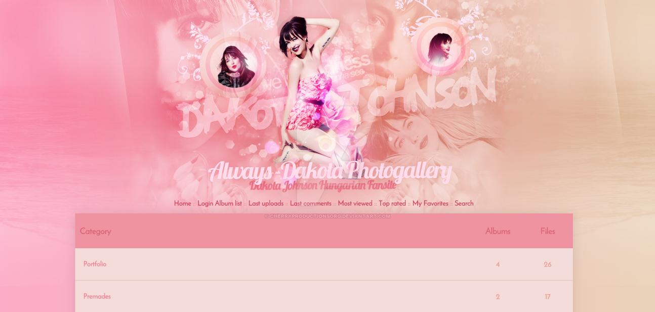 Dakota Johnson CPG Theme by cherryproductionsorg