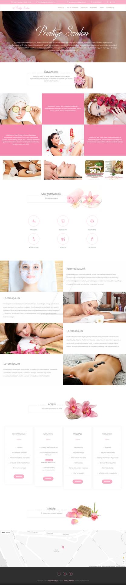 Beauty Salon Design Concept by cherryproductionsorg