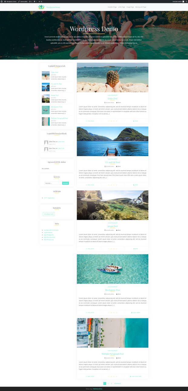 New Wordpress Theme Coming Soon