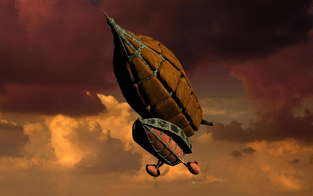 Travel Steampunk Airways 16:9 by rochdale