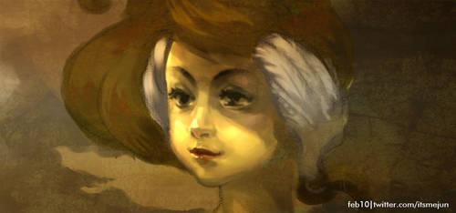 That Golden Age Girl by c0ffecat-jun