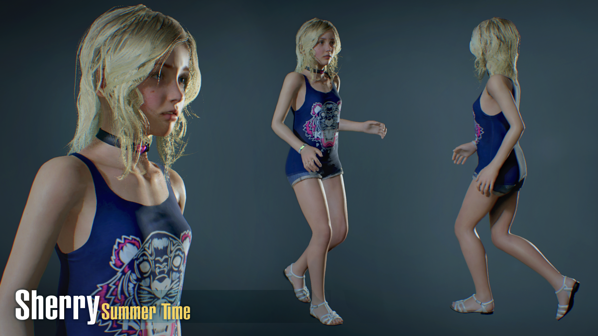 XPS - RE6 - Sherry Birkin China Outfit by henryque999 on