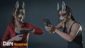 Claire Masquerade - Bunny Mask