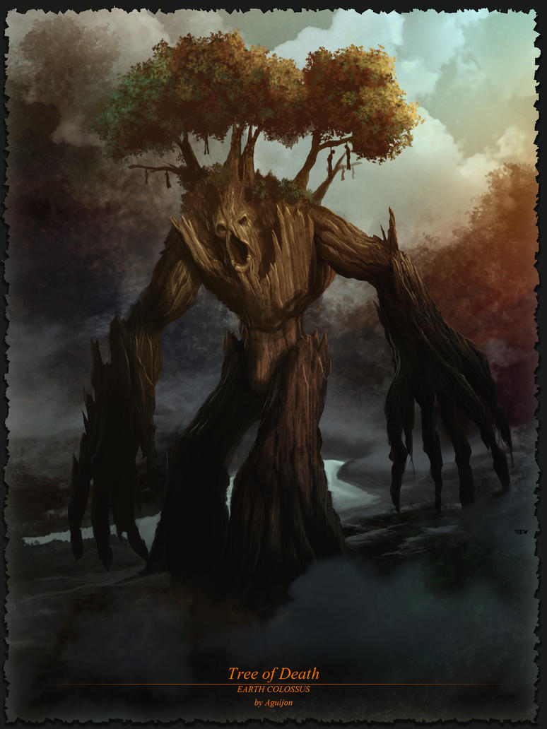Tree of Death by aguijon