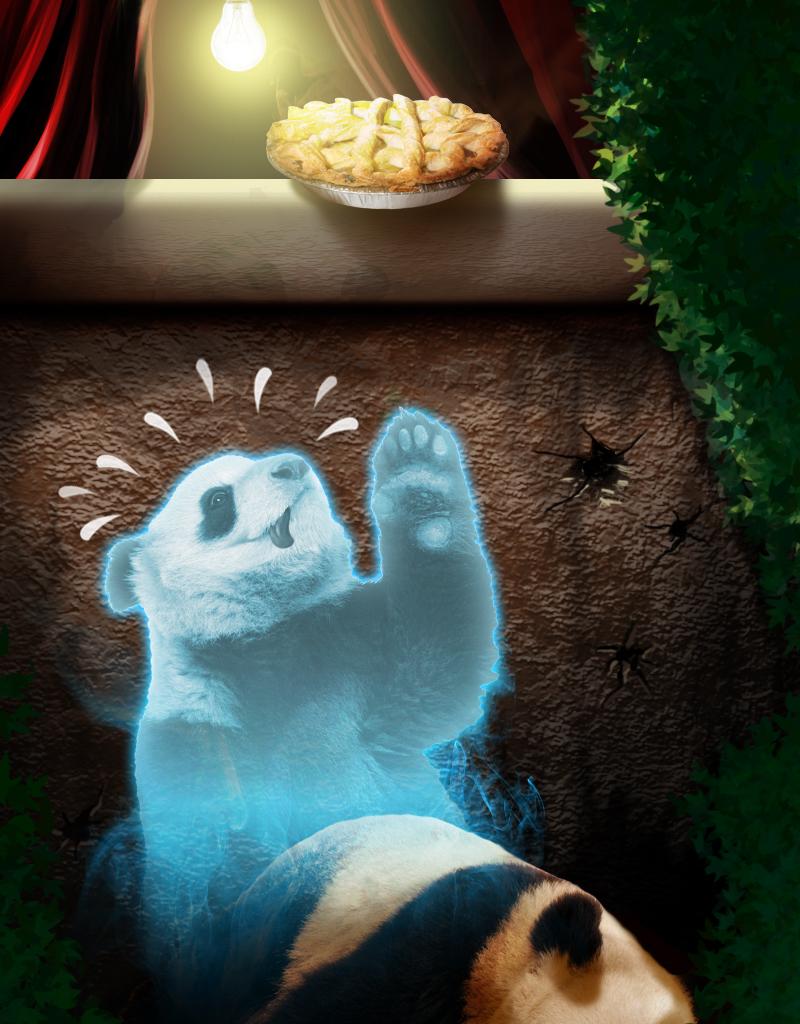 The Last Temptation of Panda by aguijon