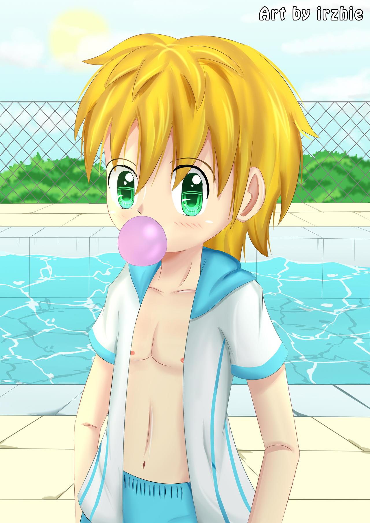 Summer Boy by irzhie
