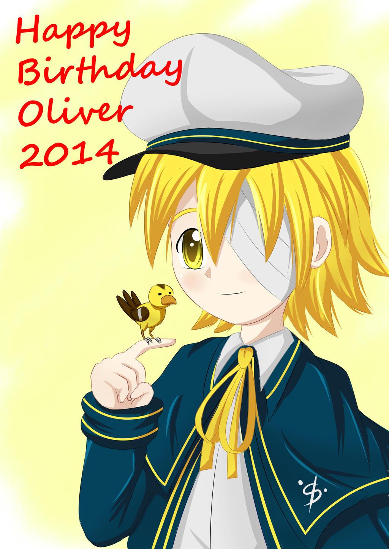Happy Birthday Oliver 2014 by irzhie