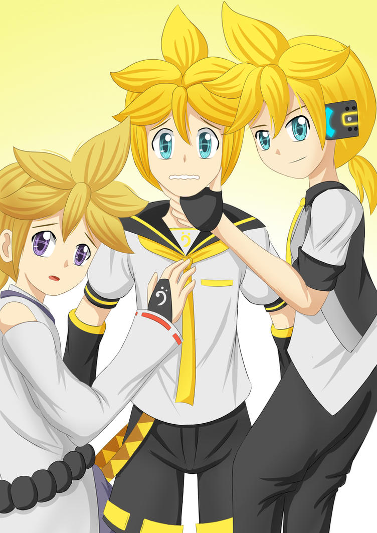 Len Threesome by irzhie