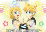 Rin Len 10th anniversarry