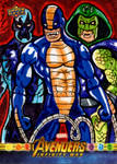The Serpent Society for Upper Deck/Marvel!