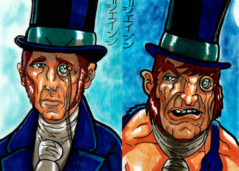 Dr. Jekyll and Mr. Hyde for Viceroy Cards! by RazeComix