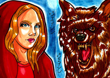 Little Red Riding Hood and the Big Bad Wolf by RazeComix