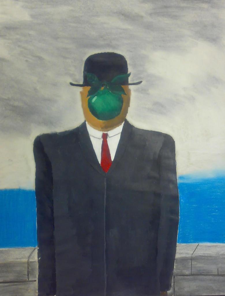Son Of Man by Rene Magritte by zyguzsss on DeviantArt