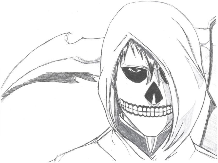 i am the grim reaper by shadowblackfox