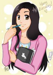 Happy Birthday Shiei by dark-magician-nikoru