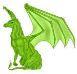Pernese Dragon: Green