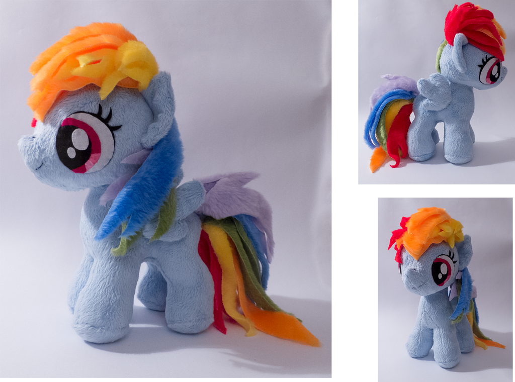 filly Rainbow Dash by mmmgaleryjka