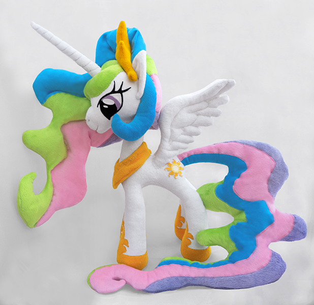 Princess Celestia inspired plush by mmmgaleryjka