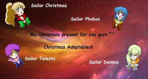 Sailor presents christmas ADOPTABLES!!!