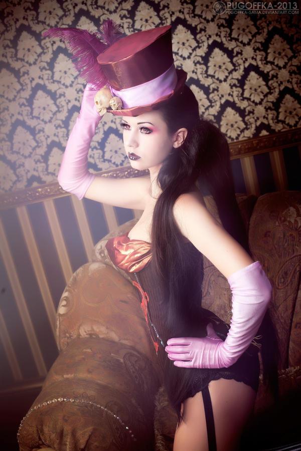 Satana close up by Alexia-Muller